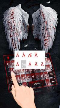 Angel Swings Theme&Emoji Keyboard screenshot 3