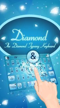 Sparkling Diamond Theme&Emoji Keyboard poster