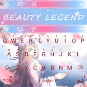 Beauty Legend Theme&Emoji Keyboard icon