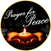 Pray For Peace Theme&Emoji Keyboard icon