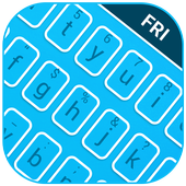 Mood Themes Friday Lucky Blue Theme Keyboard icon