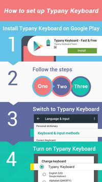 Mood Themes Friday Lucky Blue Theme Keyboard apk screenshot