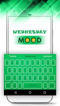 Mood Themes Thursday Lucky Orange Theme Keyboard poster