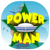 Power Man Theme&Emoji Keyboard icon