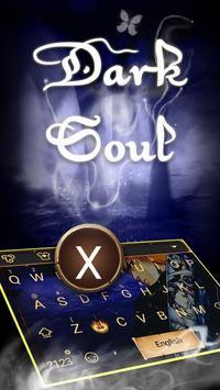 Dark Soul Theme&Emoji Keyboard poster