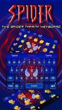 Spider Hero Theme&Emoji Keyboard poster