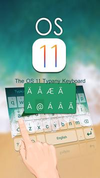 OS 11 Theme&Emoji Keyboard apk screenshot