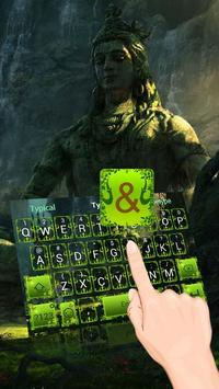 Lord Shiva Theme&Emoji Keyboard poster