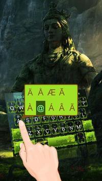Lord Shiva Theme&Emoji Keyboard screenshot 1