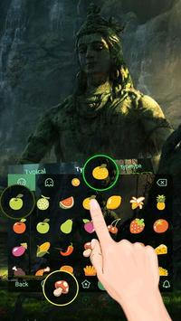 Lord Shiva Theme&Emoji Keyboard screenshot 2