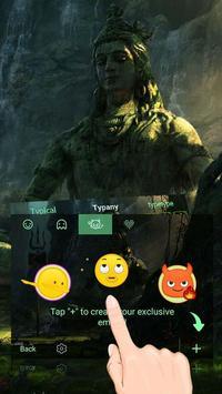 Lord Shiva Theme&Emoji Keyboard screenshot 3