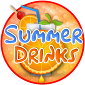 Summer Drink Theme&Emoji Keyboard icon