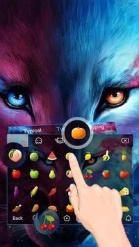 Wolf Cool Theme&Emoji Keyboard screenshot 2