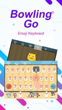 Bowling Go Theme&Emoji Keyboard screenshot 2