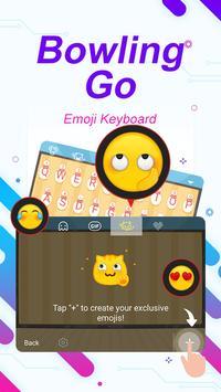 Bowling Go Theme&Emoji Keyboard screenshot 3