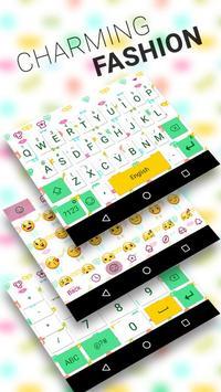 Charming Theme&Emoji Keyboard poster