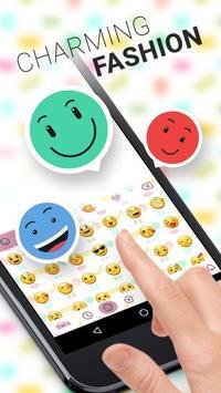 Charming Theme&Emoji Keyboard apk screenshot