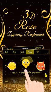 3D Gold Rose screenshot 3