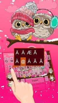 Pink Cute Owl screenshot 1