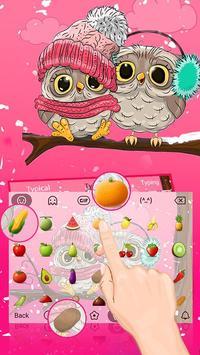 Pink Cute Owl screenshot 2