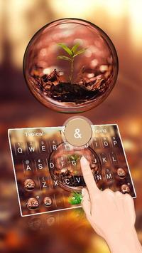 Warm Light Keyboard Theme poster