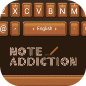 Note Addiction Theme&Emoji Keyboard icon