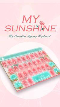My Sunshine Typany Theme poster