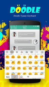 Doodle Typany Theme apk screenshot