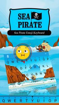 Sea Pirate Theme&Emoji Keyboard poster