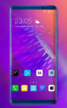 Theme for vivo X23 colorful abstract wallpaper poster