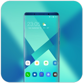 Theme for vivo X23 simple lines wallpaper icon