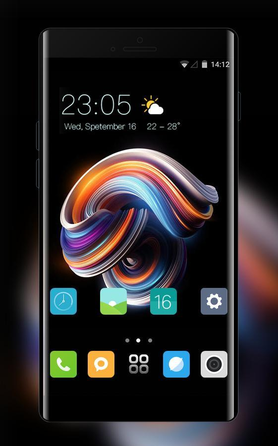 Theme for Xiaomi Mi A1 abstract wallpaper for Android - APK