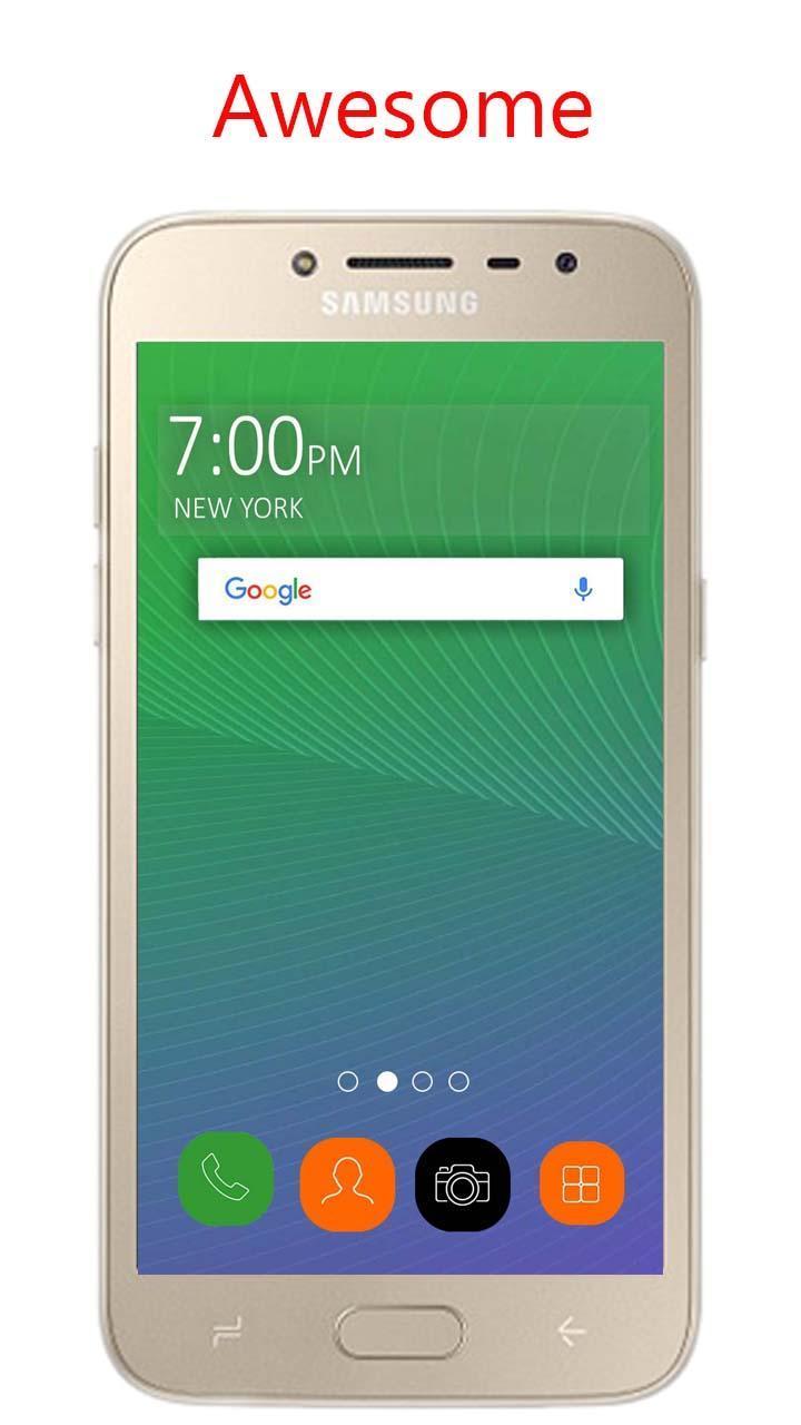 Theme for Samsung Galaxy J2 2018 | Galaxy J2 Prime for