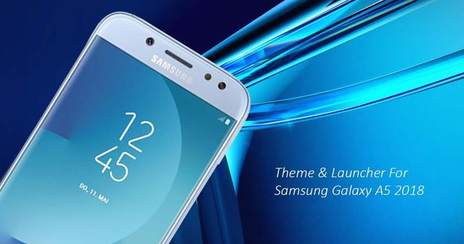 Theme for Samsung Galaxy A5 2018 poster