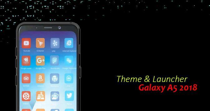 Theme for Samsung Galaxy A5 2018 screenshot 1