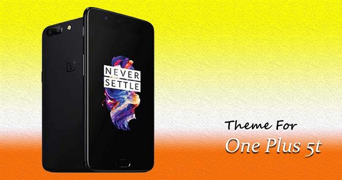 Theme For OnePlus FiveT | 5T poster