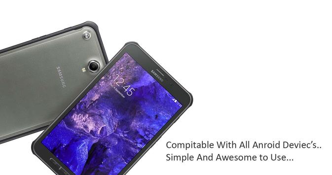 Theme for  Samsung Galaxy Tab Active 2 poster