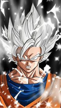 Goku Ultra Instinct Mastered Wallpaper 100% Poder poster