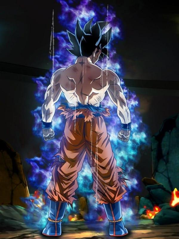 Goku Ultra Instinct Mastered Wallpaper 100% Poder for ...