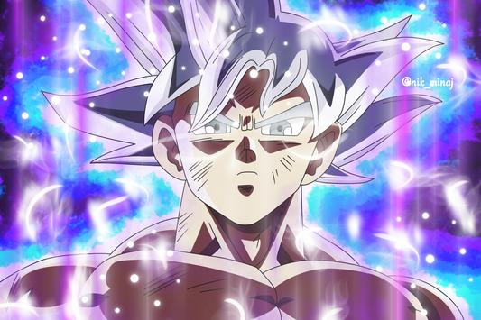 Goku Ultra Instinct Mastered Wallpaper 100% Poder screenshot 2