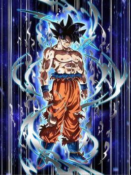 Goku Ultra Instinct Mastered Wallpaper 100% Poder screenshot 7