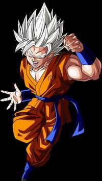 Goku Ultra Instinct Mastered Wallpaper 100% Poder screenshot 4