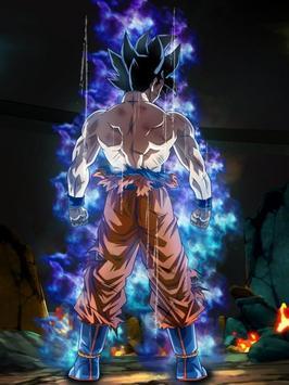 Goku Ultra Instinct Mastered Wallpaper 100% Poder screenshot 5