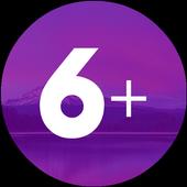 6 Plus Launcher icon