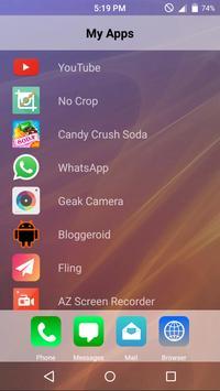 6 Plus Launcher apk screenshot