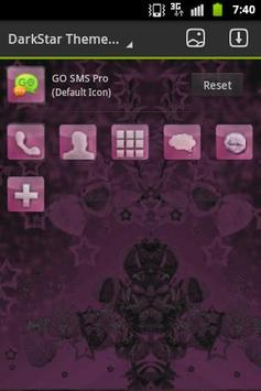 Dark Pink Theme GO Launcher apk screenshot