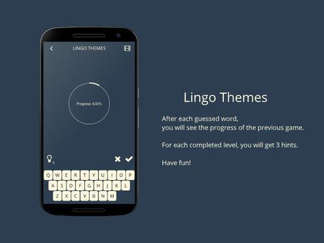 Lingo! Themes - Word game screenshot 4