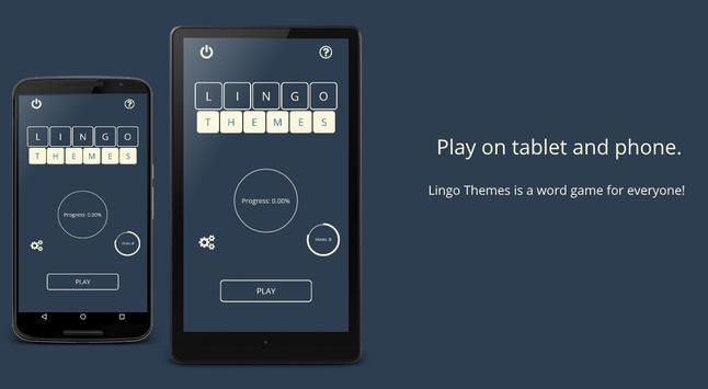 Lingo! Themes - Word game screenshot 5