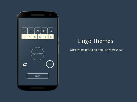 Lingo! Themes - Word game poster