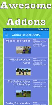 Mods & Addons for Minecraft PE (MCPE) poster